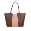 Brown Louis Vuitton Damier Ebene Jersey Tote Bag