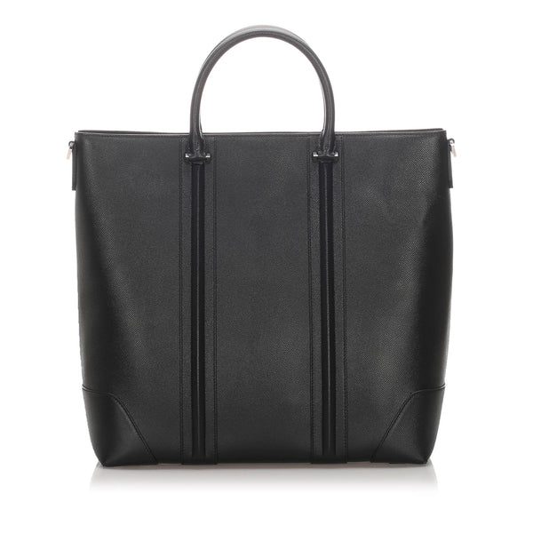 Black Givenchy LC Leather Tote Bag