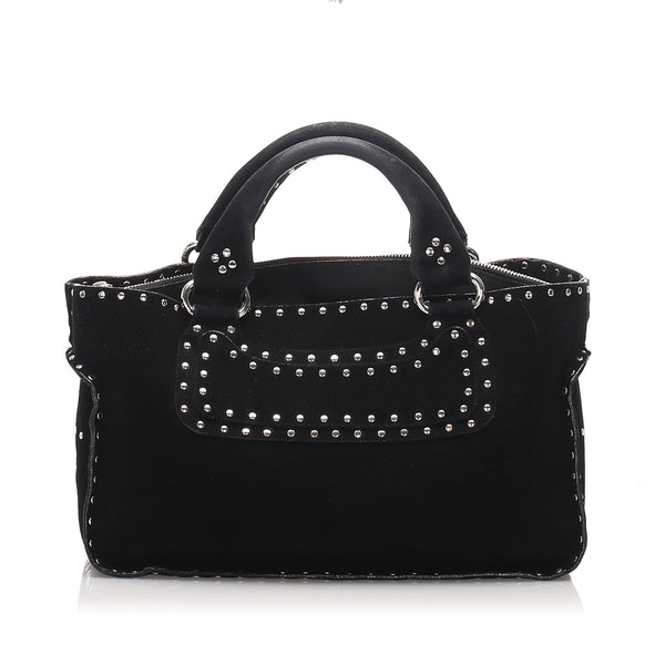 Black Celine Boogie Leather Handbag Bag