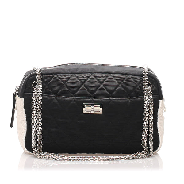 Black Chanel Grosgrain Reissue Shoulder Bag