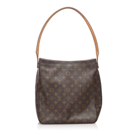 Brown Louis Vuitton Monogram Looping GM Bag