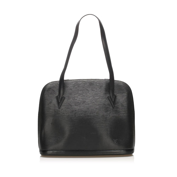 Black Louis Vuitton Epi Lussac Bag