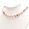 Pink Chanel Faux Pearl Necklace