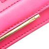 Pink Fendi Tube Leather Wallet on Chain Bag
