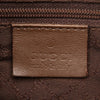 Brown Gucci Web Canvas Handbag Bag