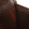 Brown Louis Vuitton Damier Ebene Small Ring Agenda