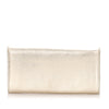 Gold Cartier Marcello Leather Long Wallet