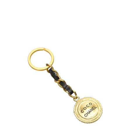 Gold Chanel Coco Key Chain