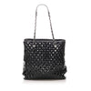 Black Chanel Matelasse Patent Leather Tote bag Bag