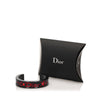 Black Dior Studded Resin Cuff