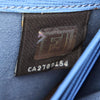 Blue Fendi Leather Long Wallet