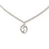 Silver Gucci Interlocking G Necklace