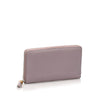 Purple Gucci Bamboo Leather Long Wallet