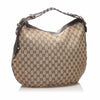 Brown Gucci GG Canvas Pelham Hobo Bag