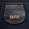 Blue Gucci Horsebit Pony Hair Hobo Bag