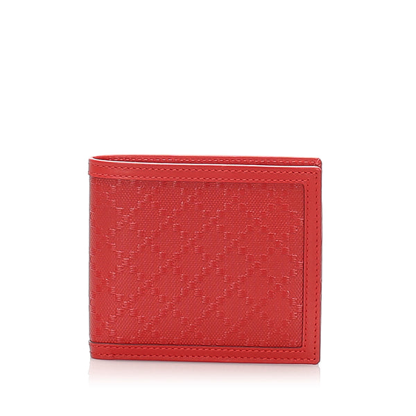 Pink Gucci Diamante Leather Wallet