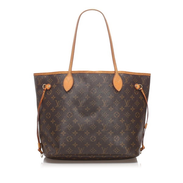 Brown Louis Vuitton Monogram Neverfull MM Bag