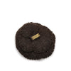 Brown Chanel Camellia Wool Brooch
