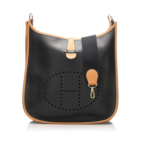 Black Hermes Ardennes Evelyne GM Bag