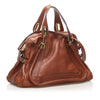 Brown Chloe Paraty Leather Satchel Bag