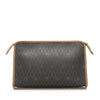 Black Dior Honeycomb PVC Clutch Bag