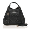 Black Gucci Soho Leather Satchel Bag