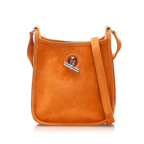 Orange Hermes Vespa TPM Bag