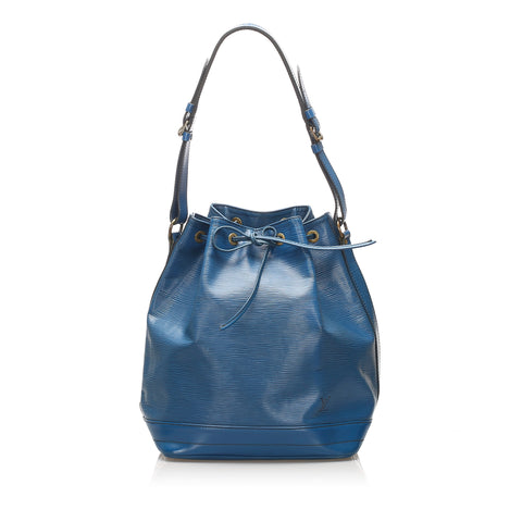 Blue Louis Vuitton Epi Noe Bag