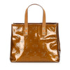 Brown Louis Vuitton Vernis Reade PM Bag