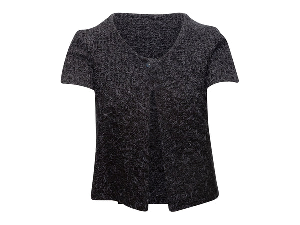 Black Yohji Yamamoto Regulation Hooded Parka