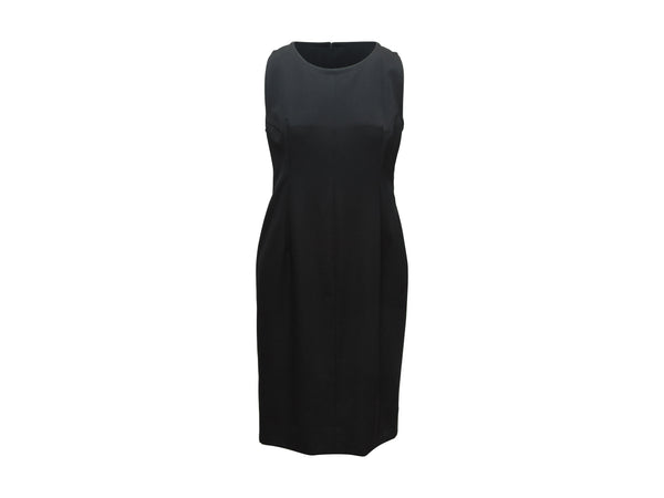 Vintage Black Givenchy Couture Sleeveless Dress