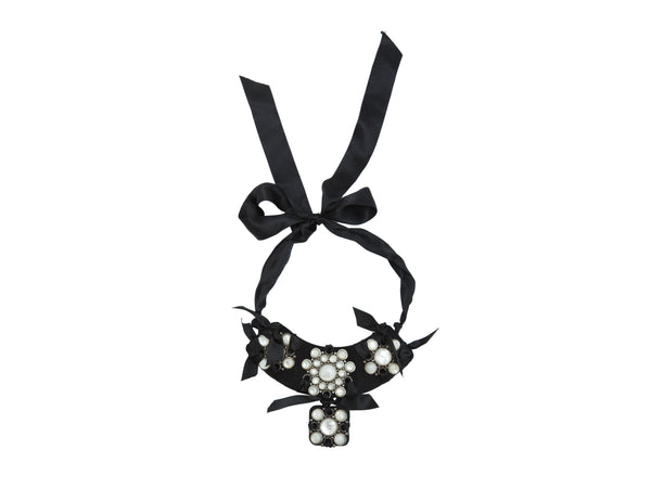 Black & White Lanvin Statement Necklace