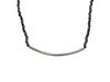 Black & Sterling Silver Bavna Diamond-Accented Necklace