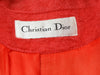 Salmon Pink Vintage Christian Dior Wool Coat
