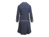 Navy Blue & Cream Vintage Givenchy Skirt Suit Set