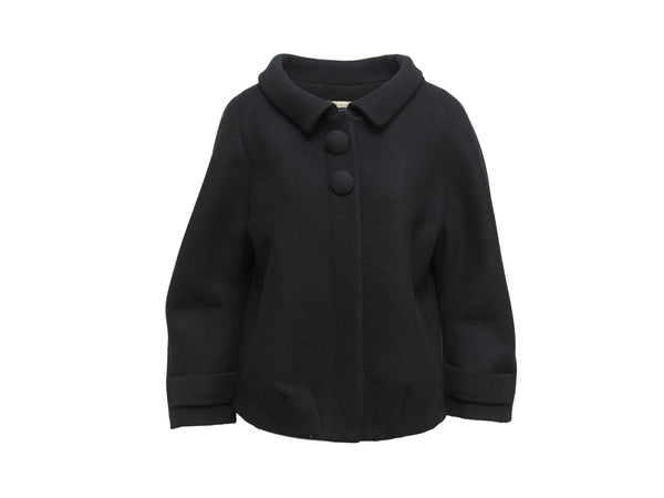 Black Balenciaga Fall/Winter 2006 Wool Jacket