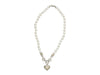 Judith Ripka Pearl, 18K Gold & Diamond Necklace