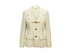 Cream Vintage Cheap and Chic By Moschino Scalloped Jacket