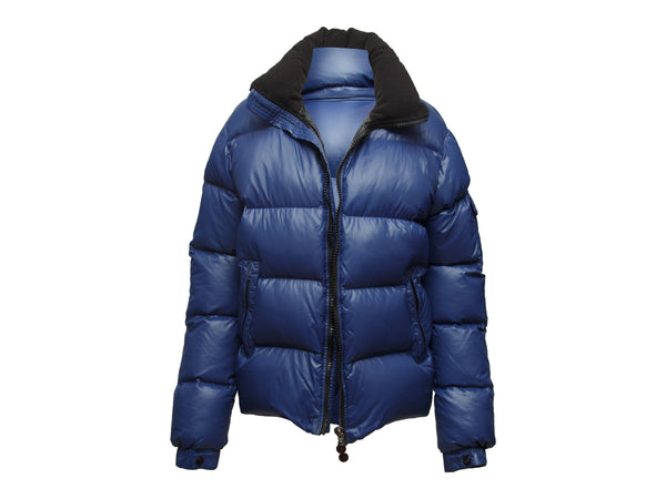 Navy Moncler Down Puffer Jacket