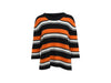 Black & Multicolor Dolce & Gabbana Cashmere Striped Top