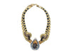 Multicolor Alex & Lee Macrame Seashell Necklace