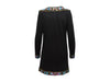 Black Vintage Mary McFadden Beaded Cashmere Dress