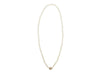 Chanel Single Faux Pearl Strand Necklace