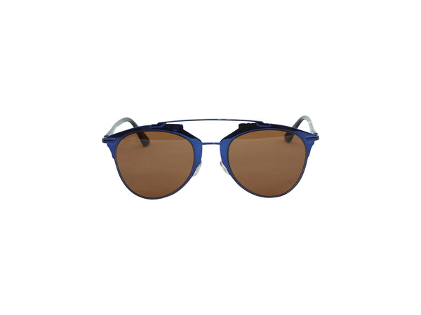 Blue Christian Dior So Real Sunglasses
