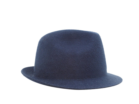 Navy Blue Loro Piana Cashfelt Hat