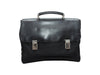 Vintage Black Prada Nylon & Saffiano Leather Briefcase
