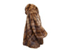 Light Brown J.Mendel Sable Poncho/Coat