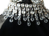 Black Azzaro Couture Velvet Crystal-Embellished Dress
