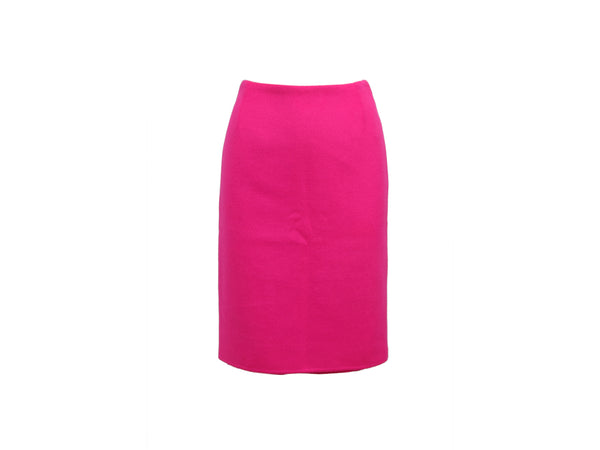 Hot Pink Oscar de la Renta Pre Fall 2011 Pencil Skirt