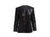 Black Vintage Yves Saint Laurent Rive Gauche Silk Evening Jacket